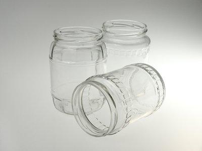 Mézes Lekváros üvegek