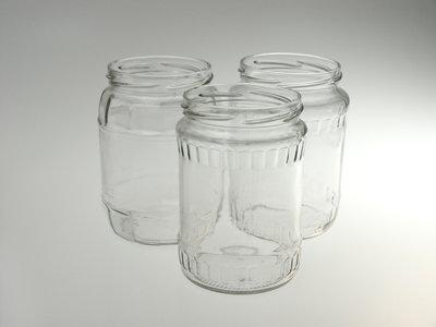 Befőttes üvegek & tető