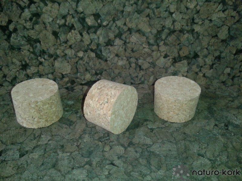Kónuszos parafa dugó -agglomerált 24x37/35 mm