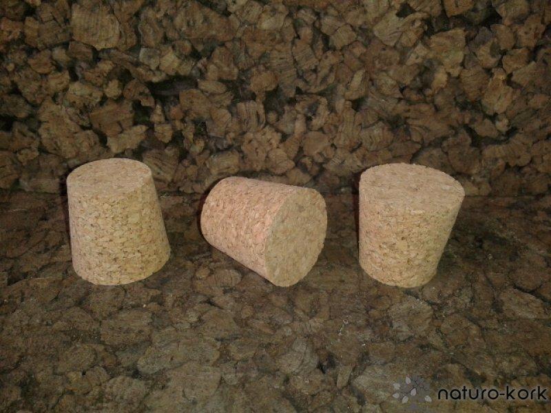 Kónuszos parafa dugó - agglomerált 30x31/25 mm