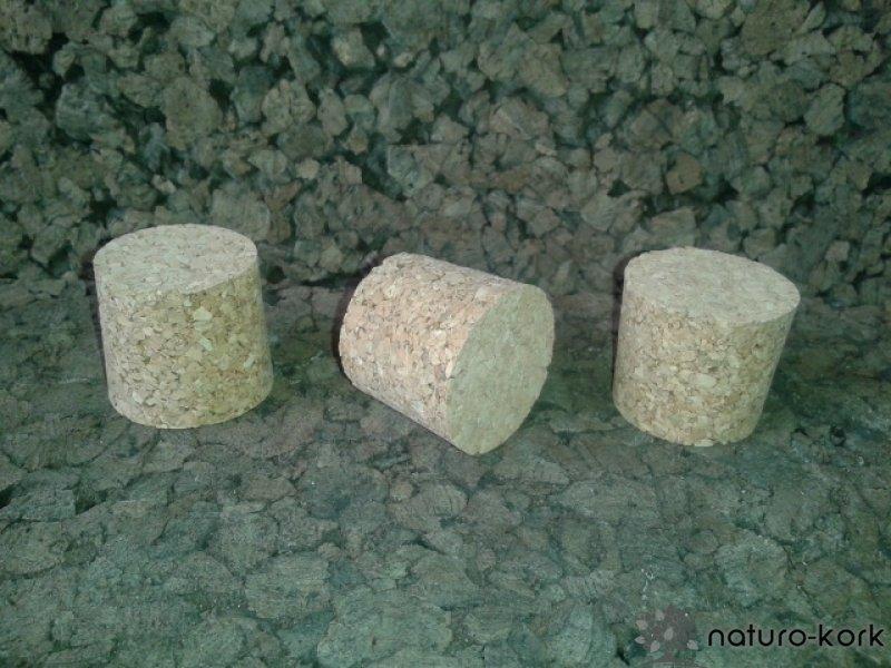 Kónuszos parafa dugó - agglomerált 30x35/32 mm
