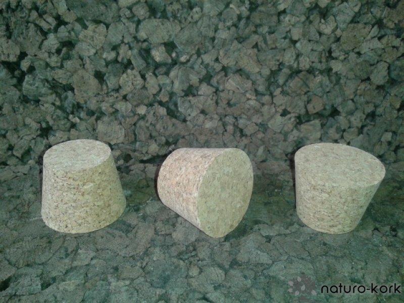 Kónuszos parafa dugó - agglomerált 30x40/30 mm