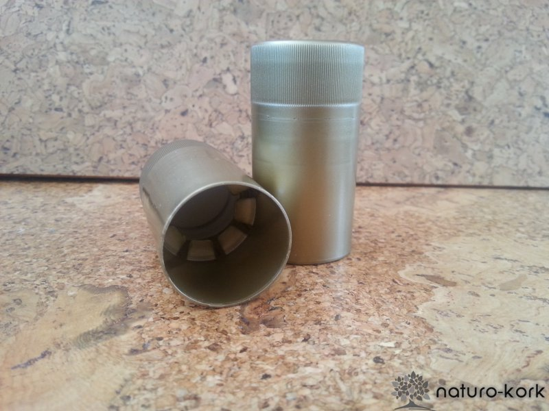 Kézzel ráhelyezhető műanyag csavarzár 30 x 60 mm