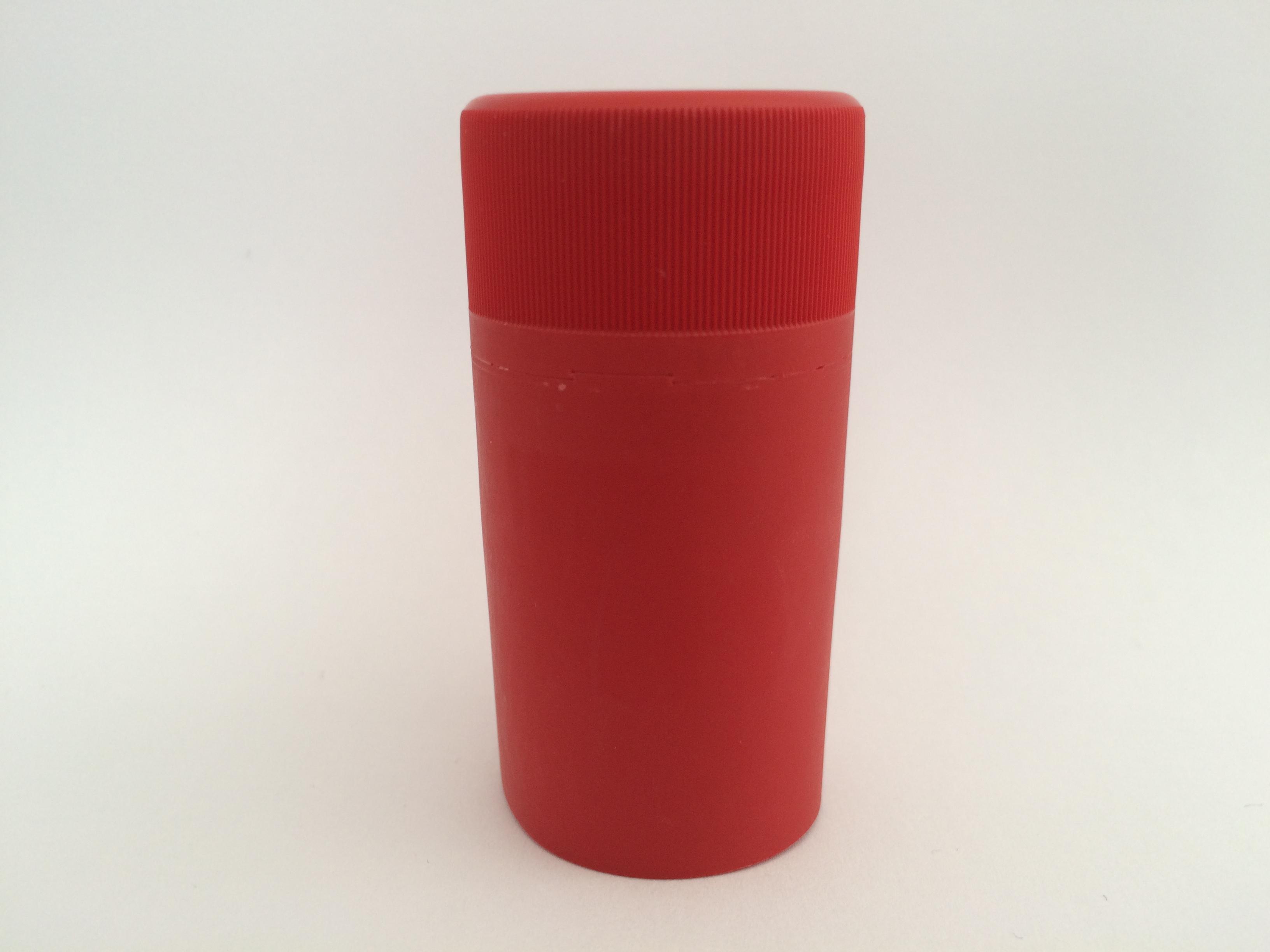 Matt piros műanyag csavarzár
