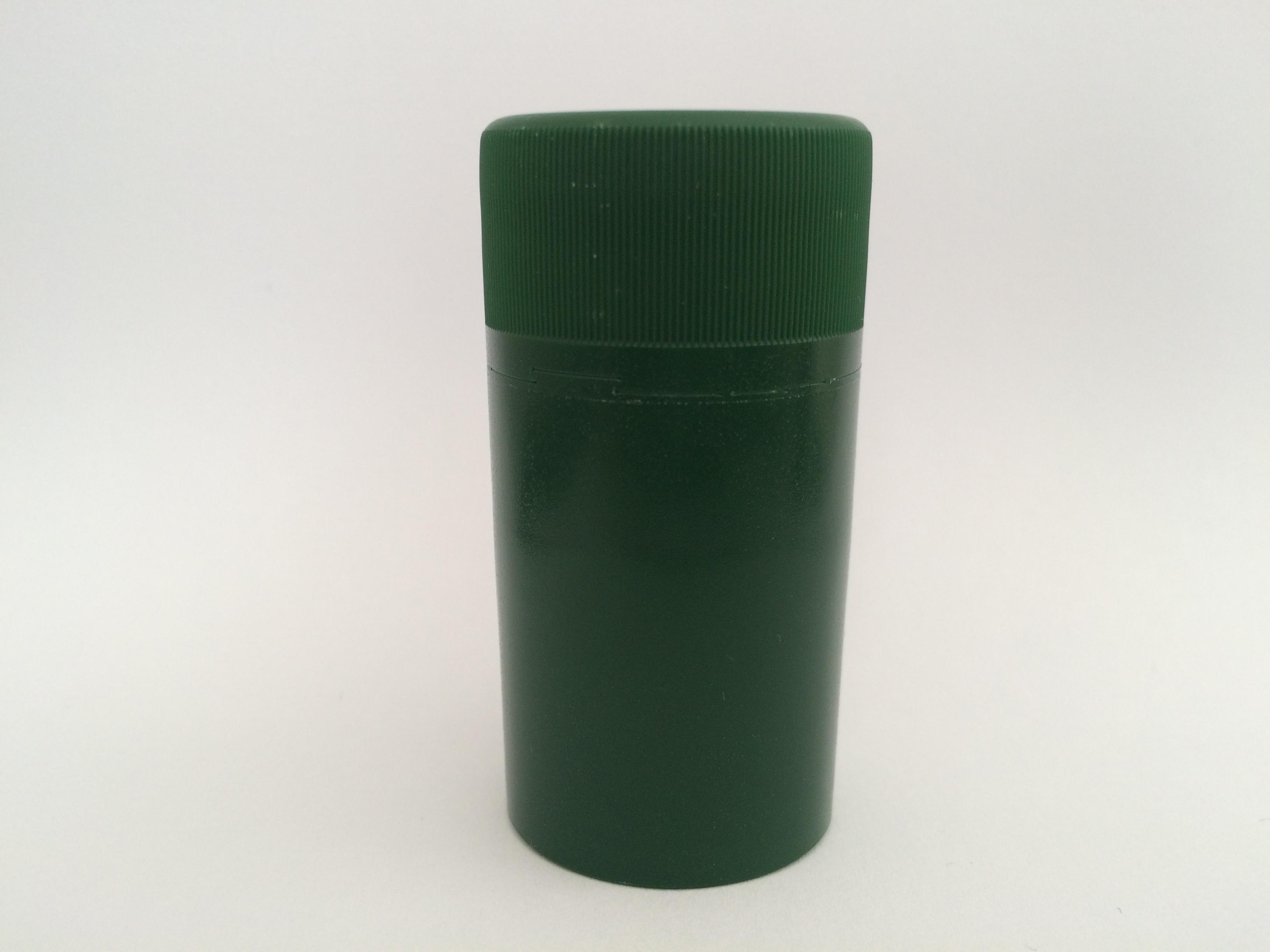 Matt zöld műanyag csavarzár